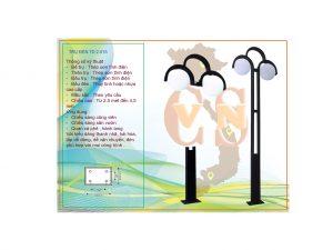 Trụ đèn sân vườn TD 2.015