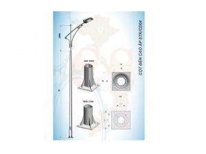 Cột đèn cao áp STK/CD04