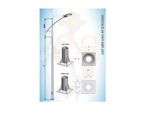 Cột đèn cao áp STK/CD05