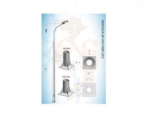 Cột đèn cao áp STK/CD 06