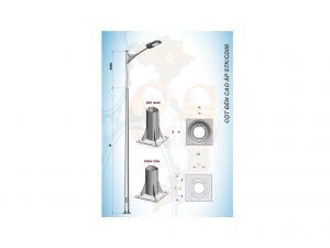 Cột đèn cao áp STK/CD08
