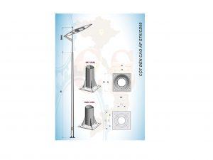 Cột đèn cao áp STK/CD09