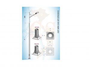 Cột đèn cao áp STK/CD13