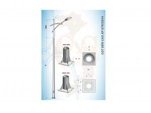 Cột đèn cao áp STK/CD14