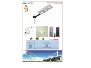 Đèn led năng lượng mặt trời JDA200