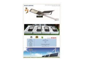 Đèn led năng lượng mặt trời VNLICO M-60-N